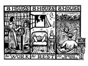 8 Часа труд, 8 часа почивка и 8 часа сън