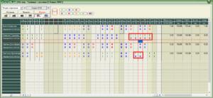 Геокон Планексперт - Проекто-график – Реален график / разлики