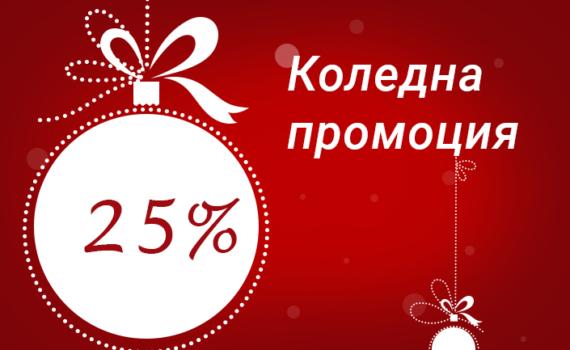 Коледна промоция на Геокон България
