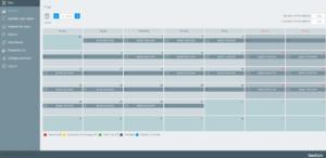 Schedule Plan in GeoConPlanExpert