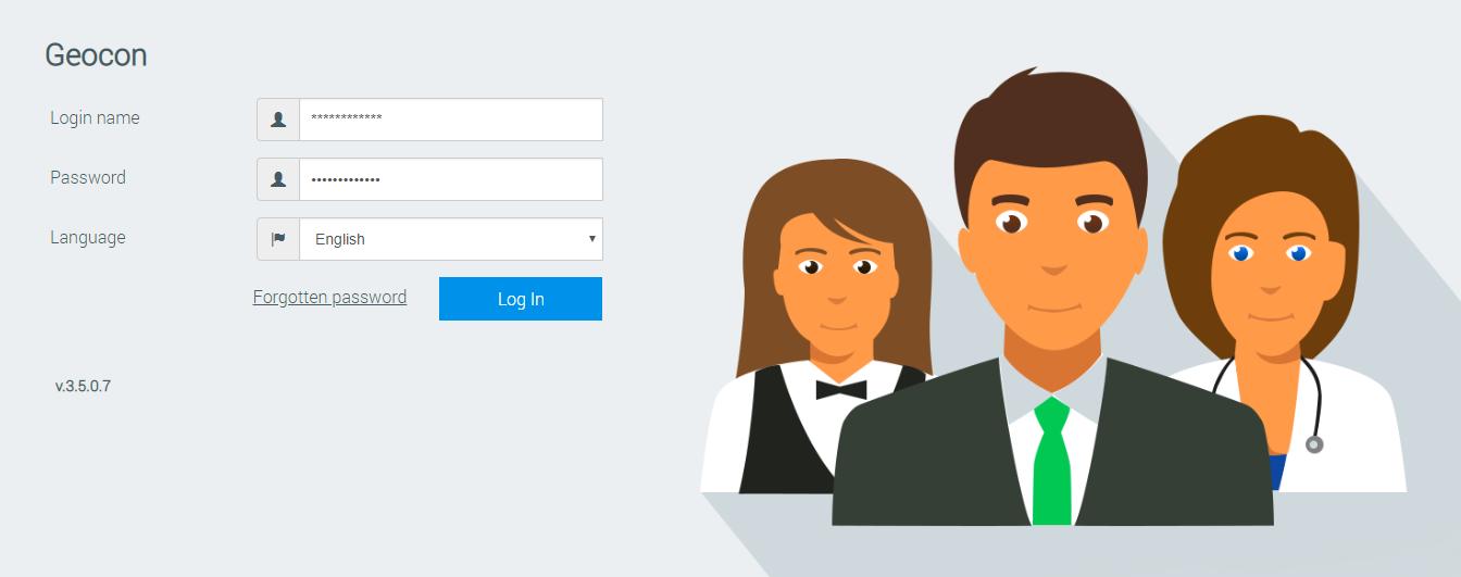 Employee sel-service software | GeoConPlanExpert