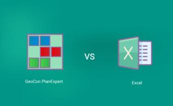 GeoCon PlanExpert VS. Excel при сменен режим